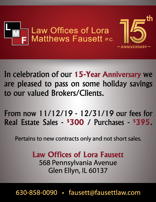 15 Year Anniversary Special for Brokers and Clients