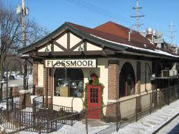 Flossmoor IL train station