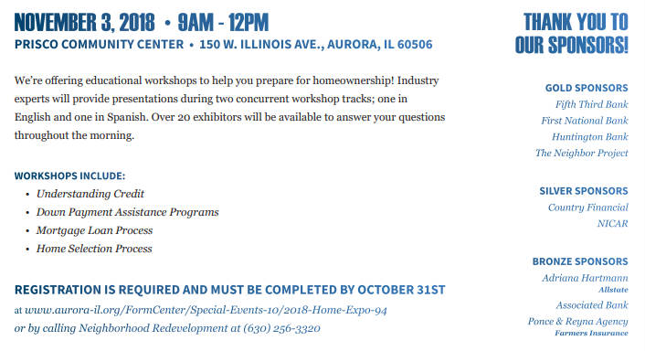 Home Buying Expo - Event Details