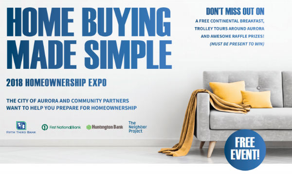 Home Buying Expo - Aurora, IL - November 3, 2018
