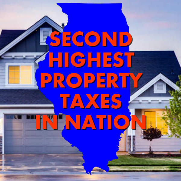 Illinois has second highest property taxes in nation