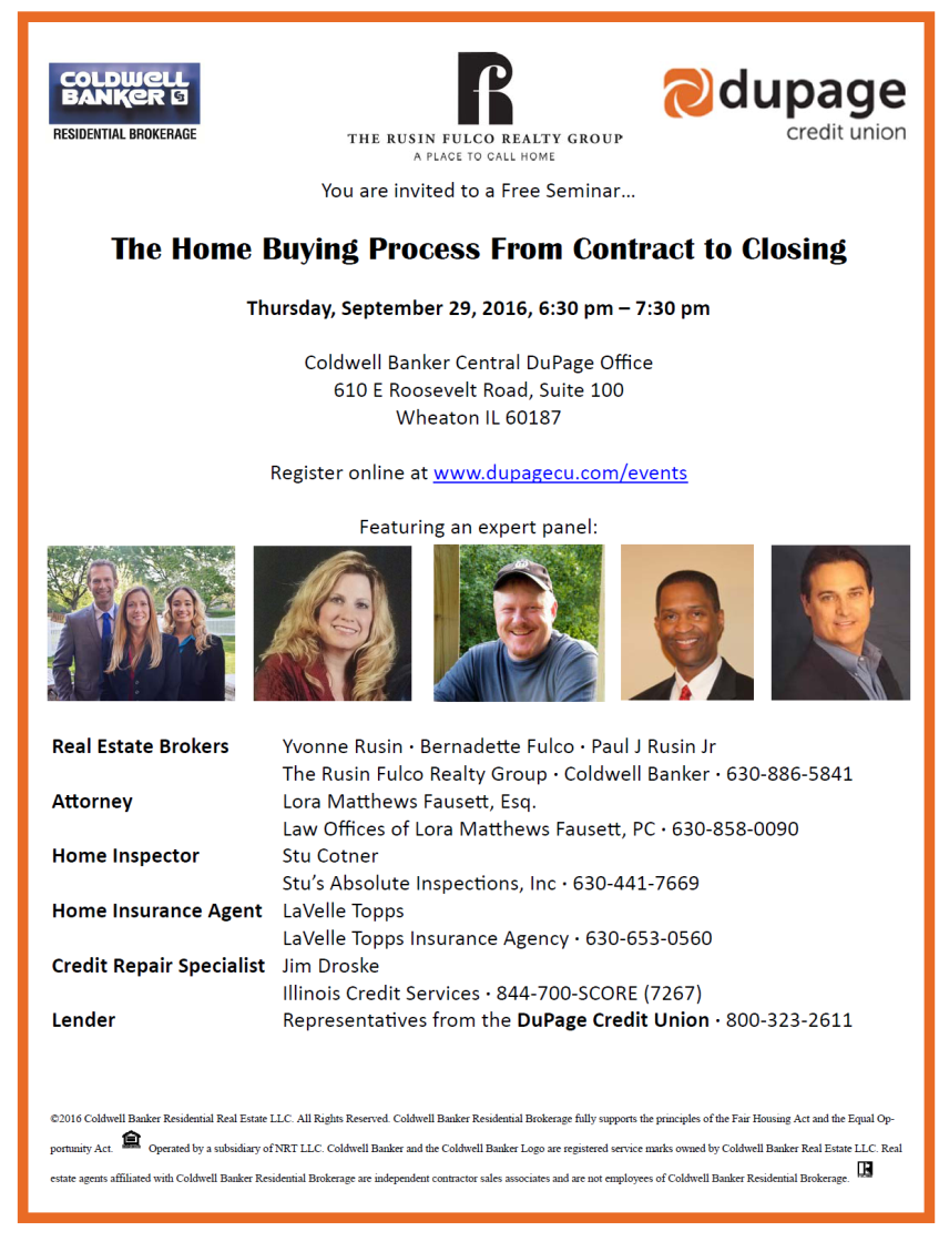 You're Invited: The Home Buying Process From Contract to Closing