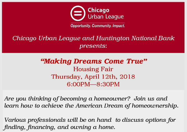 Making dreams come true - Housing fair April 12 2018